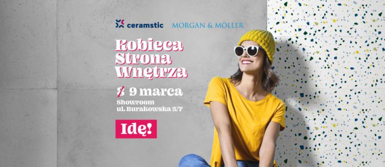 Kobieca Strona Wnętrza już 9 marca w naszym Showroomie w Warszawie