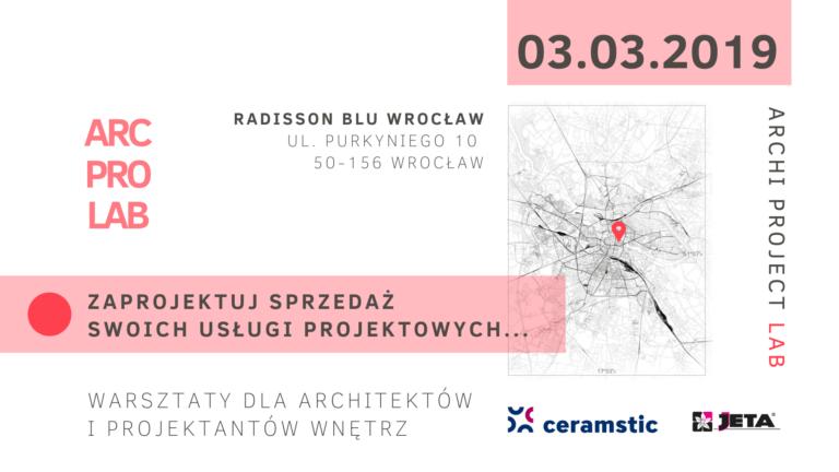 Już dokładnie za dwa tygodnie intensywny warsztat dla architektów i projektantów wnętrz we Wrocławiu