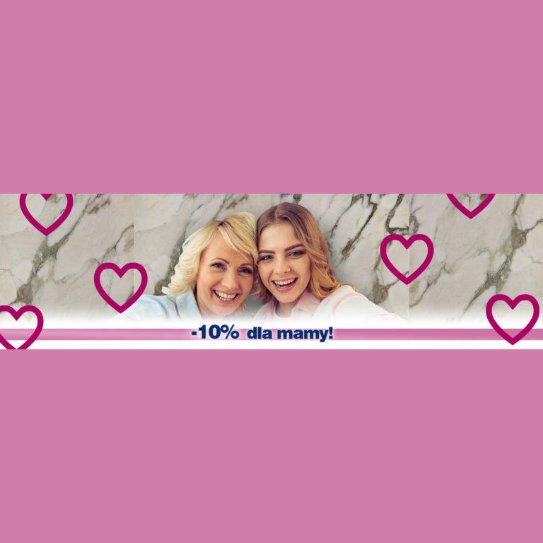 Dzień Matki i -10% rabatu