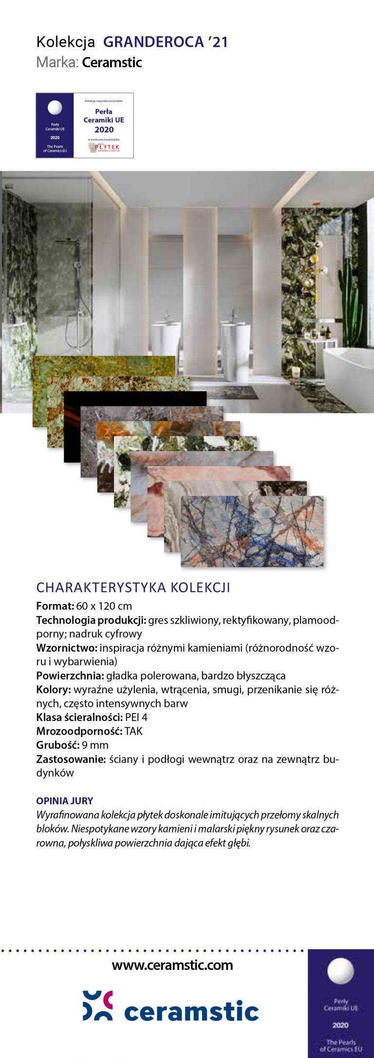 Ceramstic Granderoca'21 Perły Ceramiki 2020